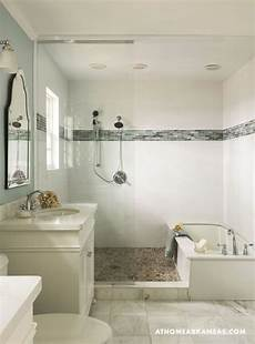 primary palette small bathroom with shower bathtub