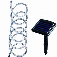 hton bay 16 ft led clear solar rope light 79130 the home depot