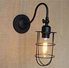 edison wall sconce black vintage wall lights for home in style loft industrial wall l