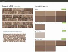 coopers mill earth tone brick general shale behr