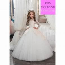 robe ées folles robe de c 233 r 233 monie mariage fille enfant princesse