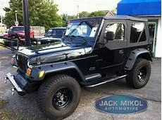 new 6 quot wide black fender flares 1997 2006 jeep wrangler tj 6 piece ebay