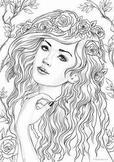 nymph printable coloring page from favoreads coloring etsy