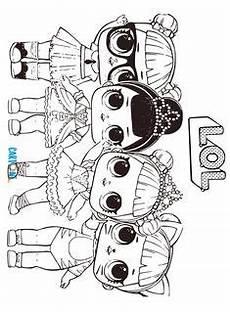Malvorlagen Lol Xyz Lol Suprise Doll Coloring Pages Free Printable