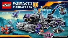 lego nexo knights 2017 jestro s headquarters 70352