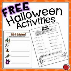 free halloween worksheets by tchrbrowne teachers pay teachers