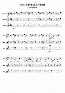 once upon a december sheet music violin once upon a december sheet music for violin download free