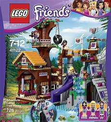 Malvorlagen Lego Friends House Lego Friends Adventure C Tree House 41122 695639219413