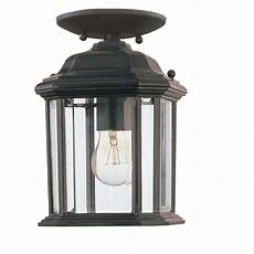 sea gull lighting kent 1 light outdoor black pendant fixture 60029 12 the home depot