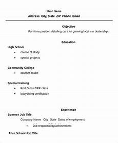 11 high school student resume templates pdf doc free premium templates