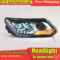 car styling led l for vw tiguan headlights 2013