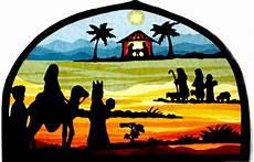 Fensterbilder Vorlagen Weihnachten Krippe Dieses Fensterbild Zeigt Die Weihnachtsgeschichte Mit Der