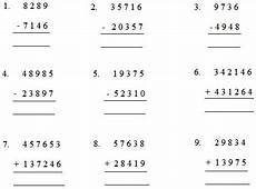 maths addition and subtraction worksheets for grade 5 worksheet by adding or subtracting worksheet on addition