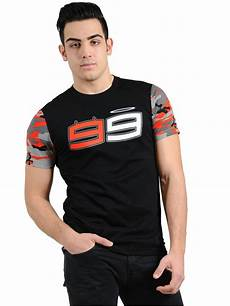free shipping 2018 jorge lorenzo 99 moto gp black t shirt racing moto gp cotton men s t shirt in