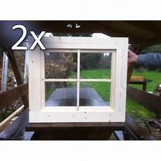 holzfenster für gartenhaus holzfenster kippfenster 63 x 63 cm doppelpack