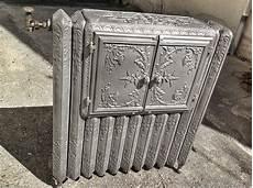 radiateur chauffe plat ancien 1900 cast iron