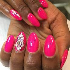 oval shaped nails design ideas 2017