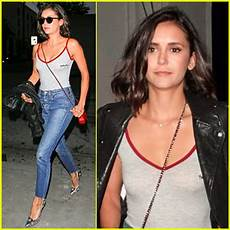 Dobrev Keeps It Comfy Trendy For Out At Craig