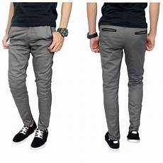 celana chino panjang pria chino panjang slimfit celana panjang pria casual shopee indonesia