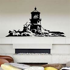 dctal large lighthouse wall stickers lighthouse wall decal
