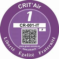 Crit Air Fonctionnement De La Vignette De Circulation