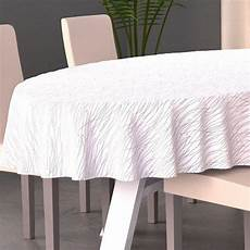 Nappe Ovale L230 Cm Glitter Blanc D 233 Coration De Table