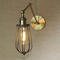 polished brass single light adjustable led wall sconce