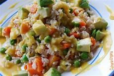 Reis Mit Soße - culinaria ungaria erbsen m 246 hren avocado reis mit curry
