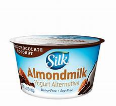 dark chocolate coconut almond dairy free yogurt alternative silk 174