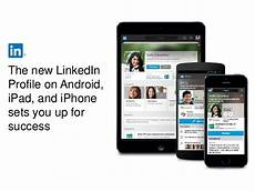 linked in mobile new linkedin profile on mobile