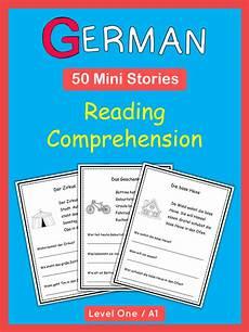 german reading comprehension worksheets 19626 german reading comprehension 50 mini stories comprensi 243 n lectora idioma alem 225 n y comprensi 243 n