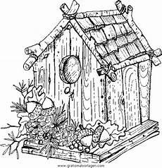 Malvorlagen Vogelhaus Gratis Vogelhaus Gratis Malvorlage In Diverse Malvorlagen Garten