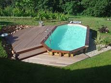 amenagement piscine en bois nos piscines bois www lot piscine