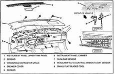 online service manuals 2010 cadillac sts on board diagnostic system how to remove dash on a 2006 cadillac sts i need the detailed 2009 cadillac dts instrument