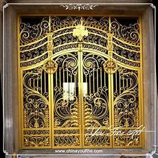 golden paint iron gate metal iron door buy paint iron