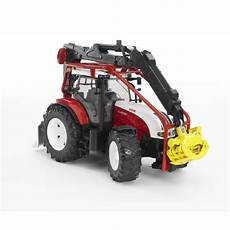 bruder steyr cvt 6230 skovbrugstraktor 03092 midhobby dk