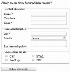 forms in html5 html css markup languages programming languages articles basicuse