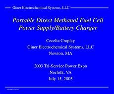 ppt portable direct methanol fuel cell power supply