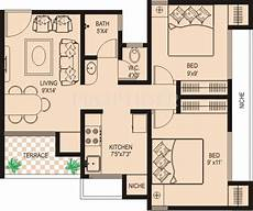 2 bhk house plans 800 sqft 800 sq ft 2 bhk floor plan image marvels kshipra