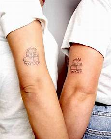 59 adorable matching best friend tattoos to get with your