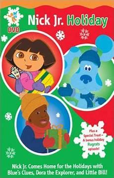 paramount studios nick jr favorites dvd canada nick jr holiday dvd sler the explorer blue s clues little bill rugrats blue