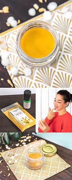 pflegenden lippenbalsam mit orangenduft selber machen