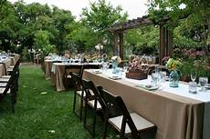 Backyard Wedding Ideas Cheap