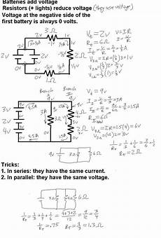 mr murray s website electricity notes