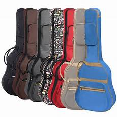 acoustic guitar soft cases sale professional portable 38 39 quot 40 41inch acoustic guitar folk balladry bass guitar gig