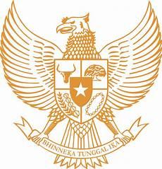 Logo Garuda Pancasila Gold Buku Gambar Lambang Negara