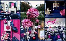 navy blue and pink wedding ideas juxtapost