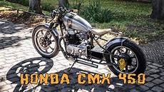 Turn A Honda Rebel Into A Cafe Racer honda cmx450 cafe racer