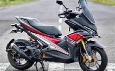 Aerox Modif Touring by Modifikasi Yamaha Aerox Paling Keren Terbaru 2019 Otomaniac
