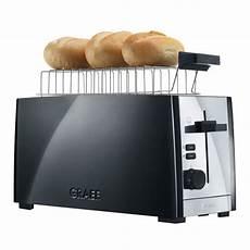 toaster schwarz graef to 102 4 scheiben toaster schwarz edelstahl